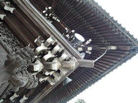 Beautiful corner of temple