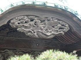 Angel at Tai shaku ten Temple