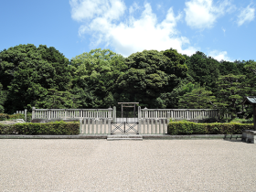 Imperial mausoleum in Nara