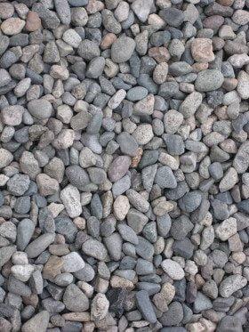 Pebbles at Honmonji