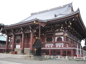 Honmonji temple at Ikegami