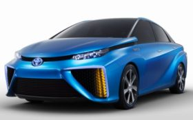 TOYOTA FCV- future hydorgen car