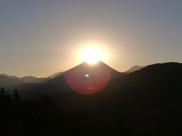 Diamond-Mt.Fuji (c)2017 T.Takai