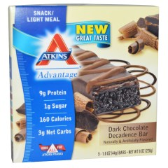 Atkins, Dark Chocolate Decadence Bar