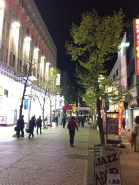 """Main street of """"Isezakicho"""""""