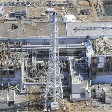 Damaged Nuclear Power Plant at Fukushima