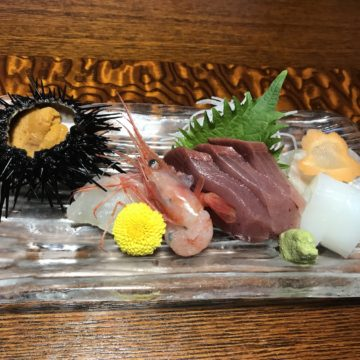 Sashimi at Himi